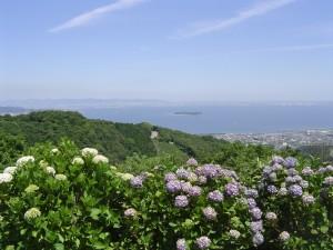 三ヶ根山スカイライン遠景